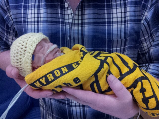 Jason , in Steelers outfit  5-13-13.jpg